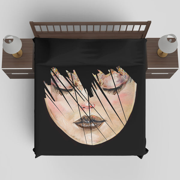 MWW - Managing Unrealistic Expectations Duvet Cover by David Choe