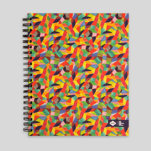 Upper Playground - Lux - Crystals Sketchbook by David Choe