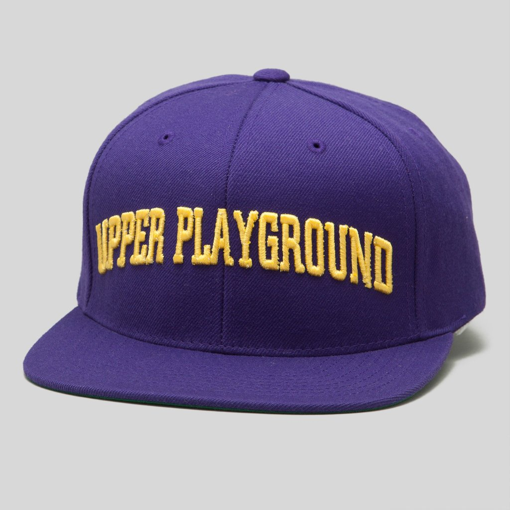 Upper Playground - Lux - DARTMOUTH SNAPBACK CAP IN PURPLE