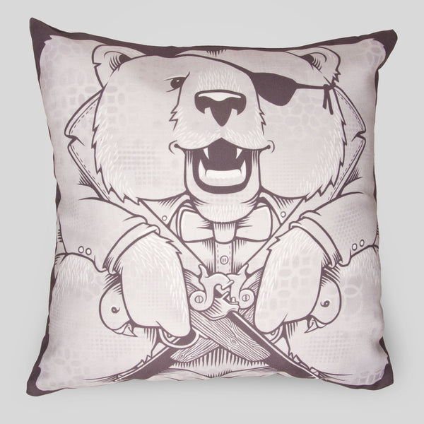 Upper Playground - The Bears Pillow by Jeremy Fish