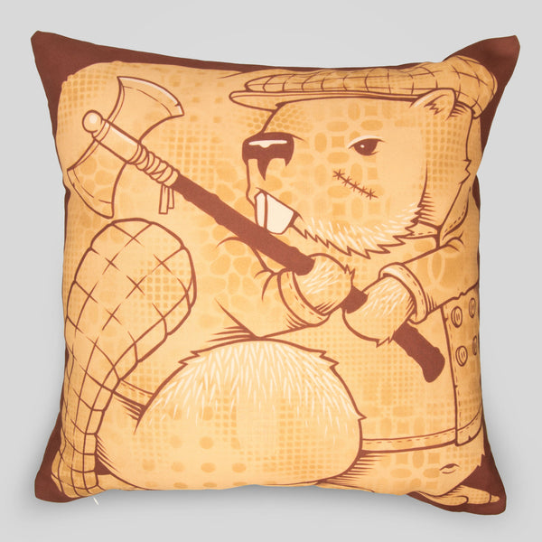 MWW - The Beavers Pillow by Jeremy Fish