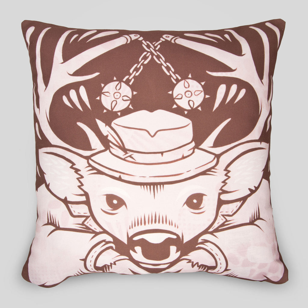 MWW - The Deer Pillow Cover by Jeremy Fish