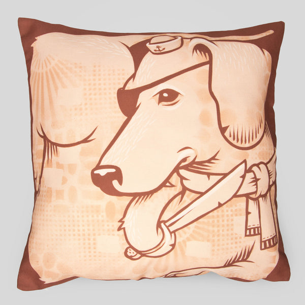 MWW - The Dogs Pillow by Jeremy Fish