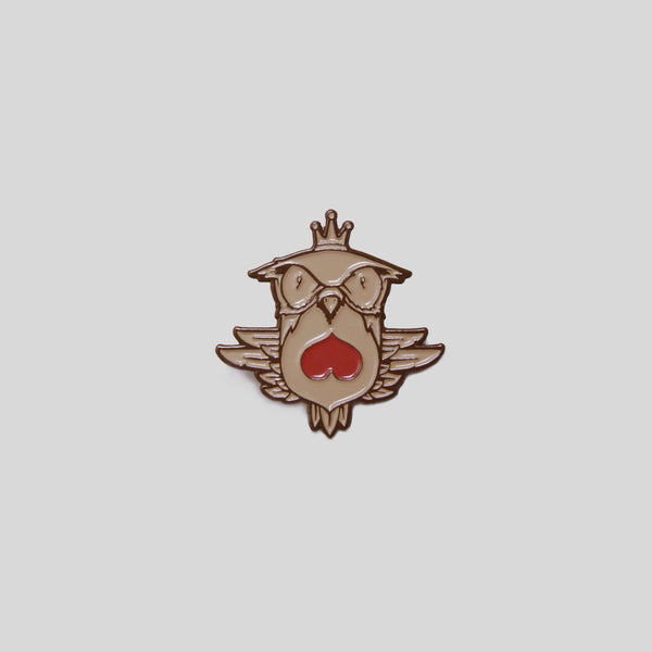 Upper Playground - Fowl Mood Pin by Jeremy Fish