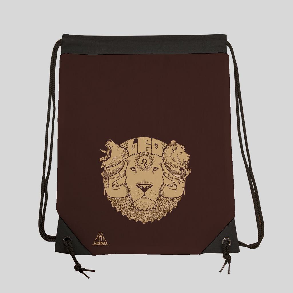 MWW - LEO ZODIAC DRAWSTRING GYM BAG