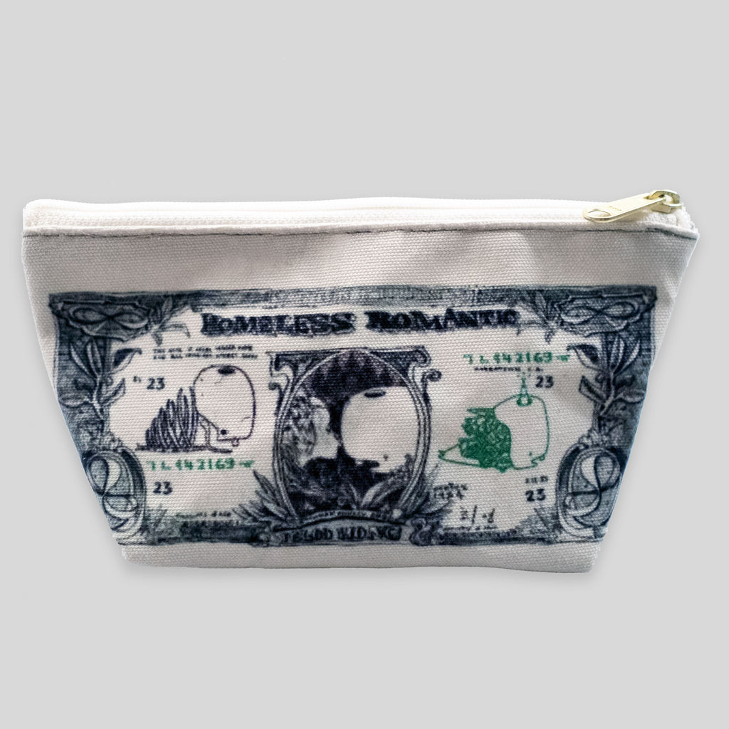 David Choe - Homeless Romantic Tender Pouch by David Choe