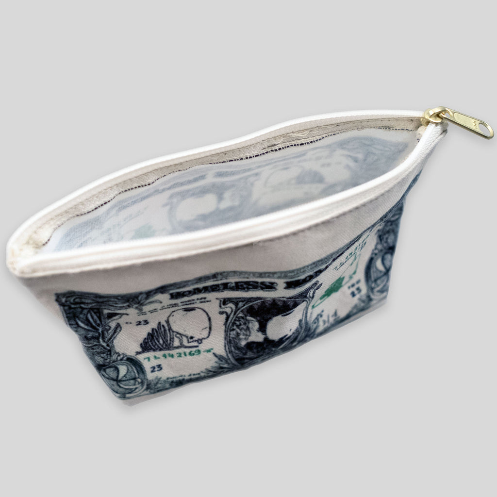 MWW - Homeless Romantic Tender Pouch by David Choe