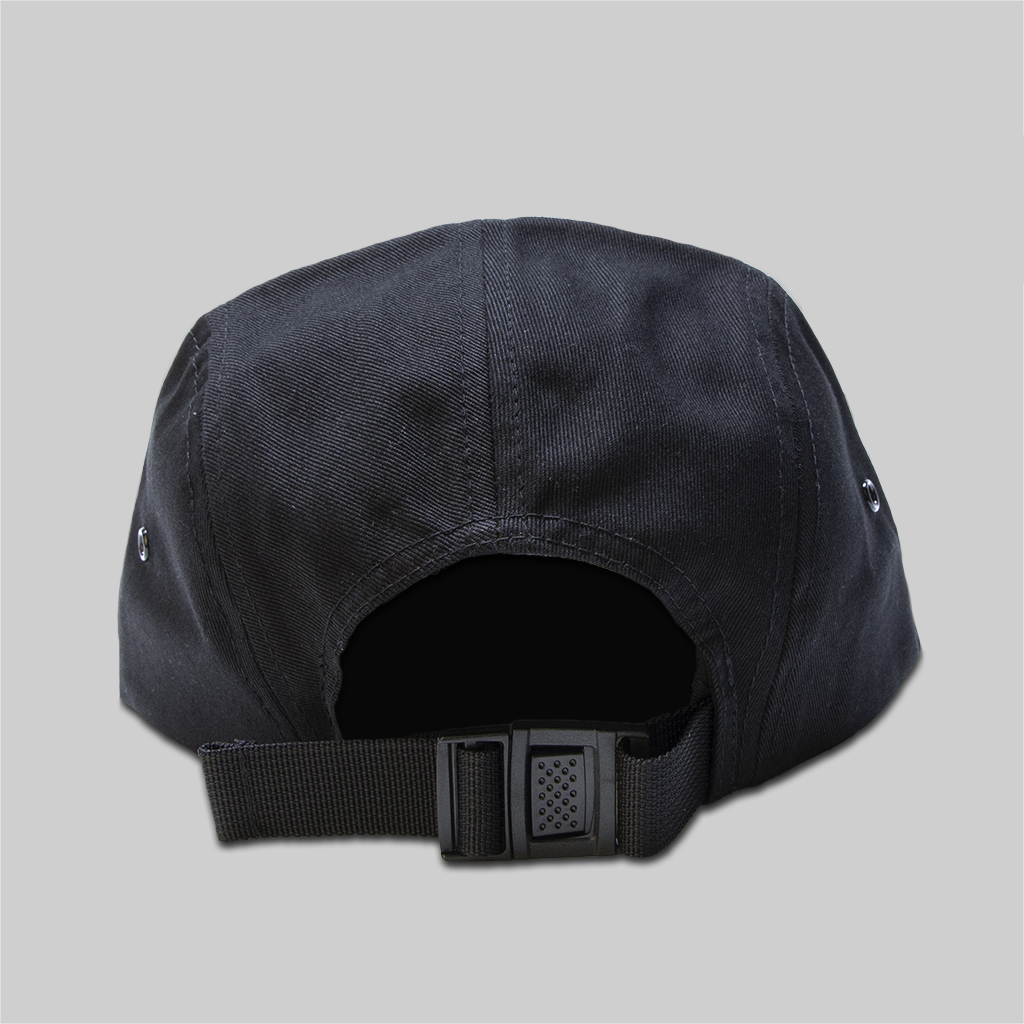 Upper Playground - Lux - House of the Setting Sun 5-Panel Cap in Black