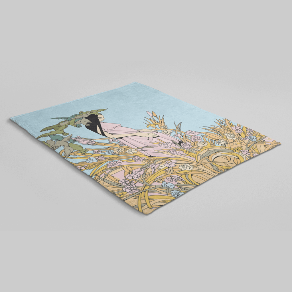 MWW - Everglade by Sam Flores Sherpa Blanket