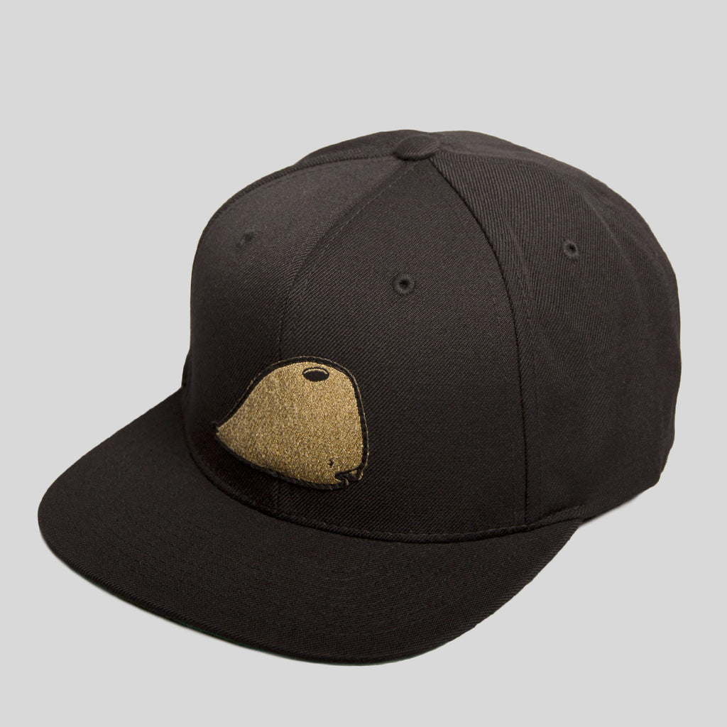 David Choe - Munko Snapback in Black by David Choe