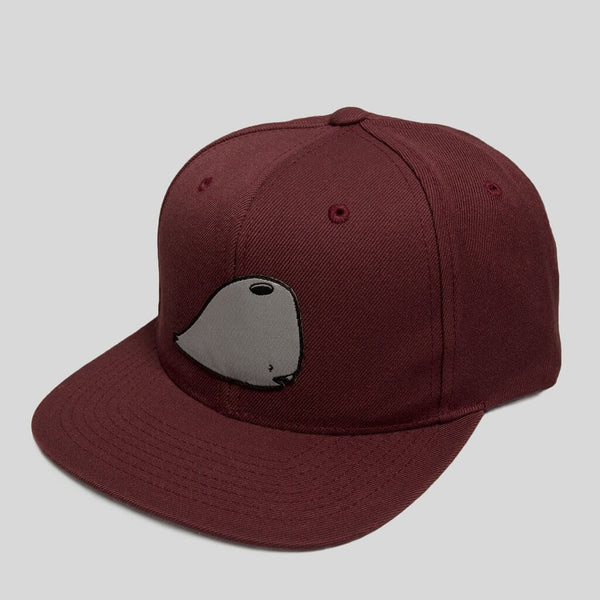 Upper Playground - Lux - Munko Snapback in Burgundy by David Choe