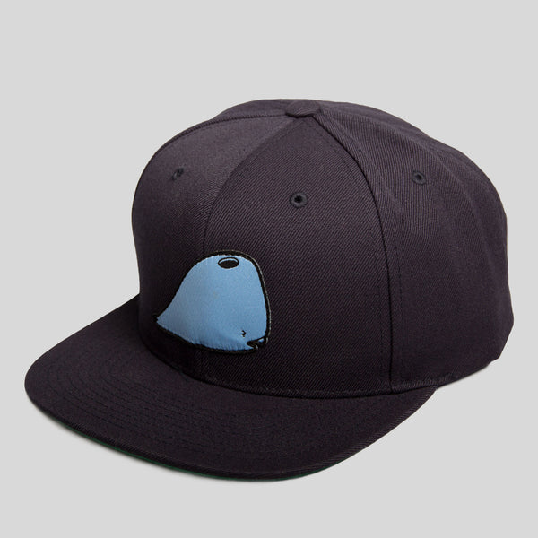 David Choe - Munko Snapback in Navy by David Choe