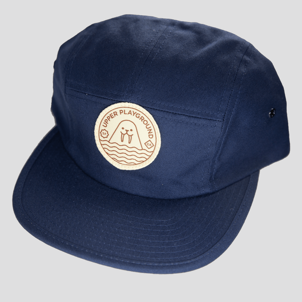 Upper Playground - Lux - Peekaboo 5-Panel Cap in Navy