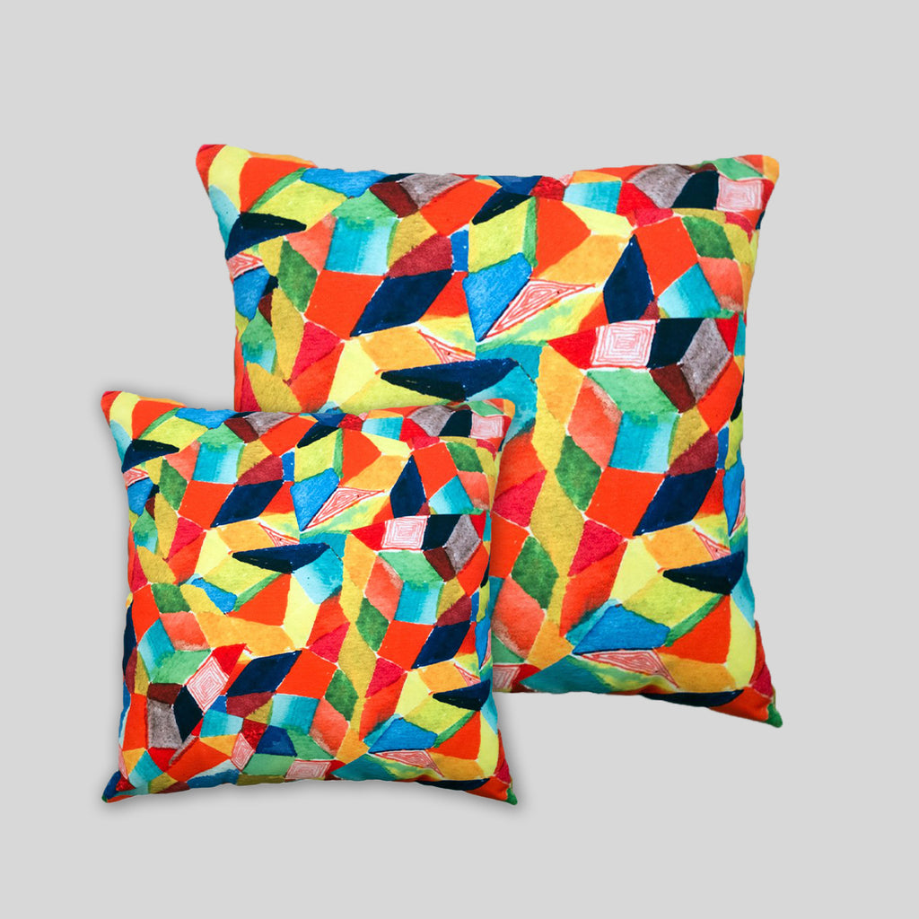 MWW - Crystals Pillow Cover by David Choe