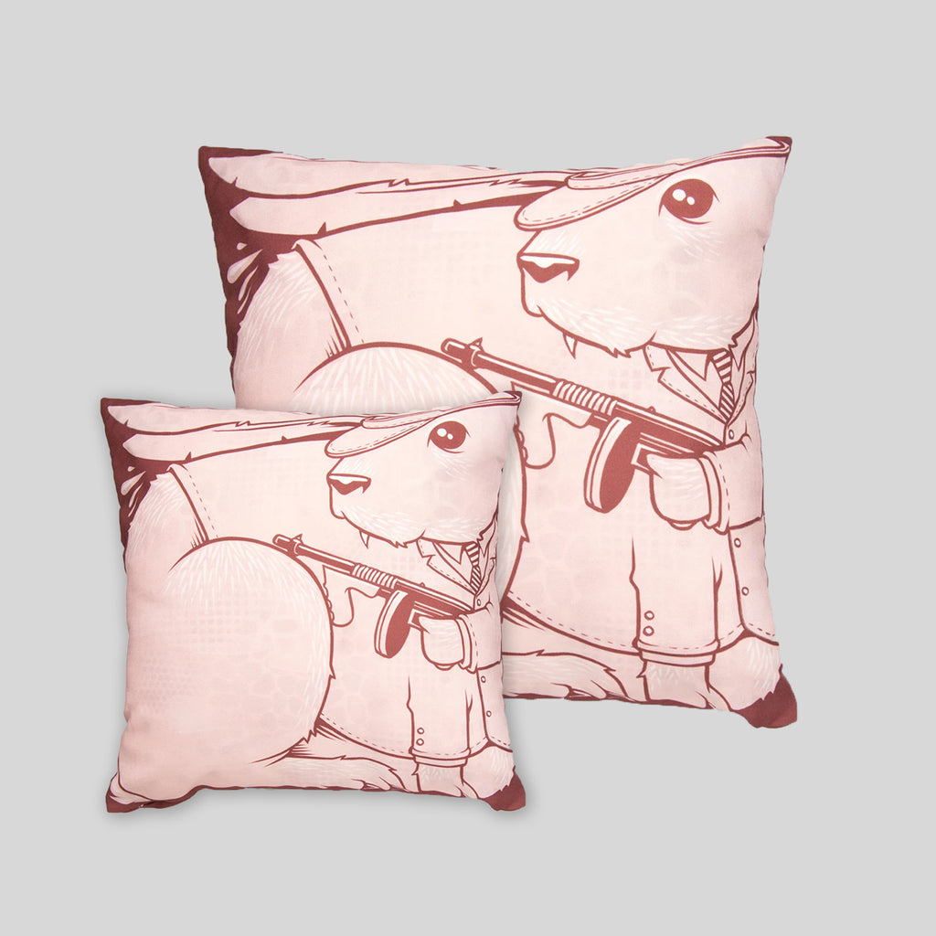 MWW - The Bunnies Pillow Cover by Jeremy Fish