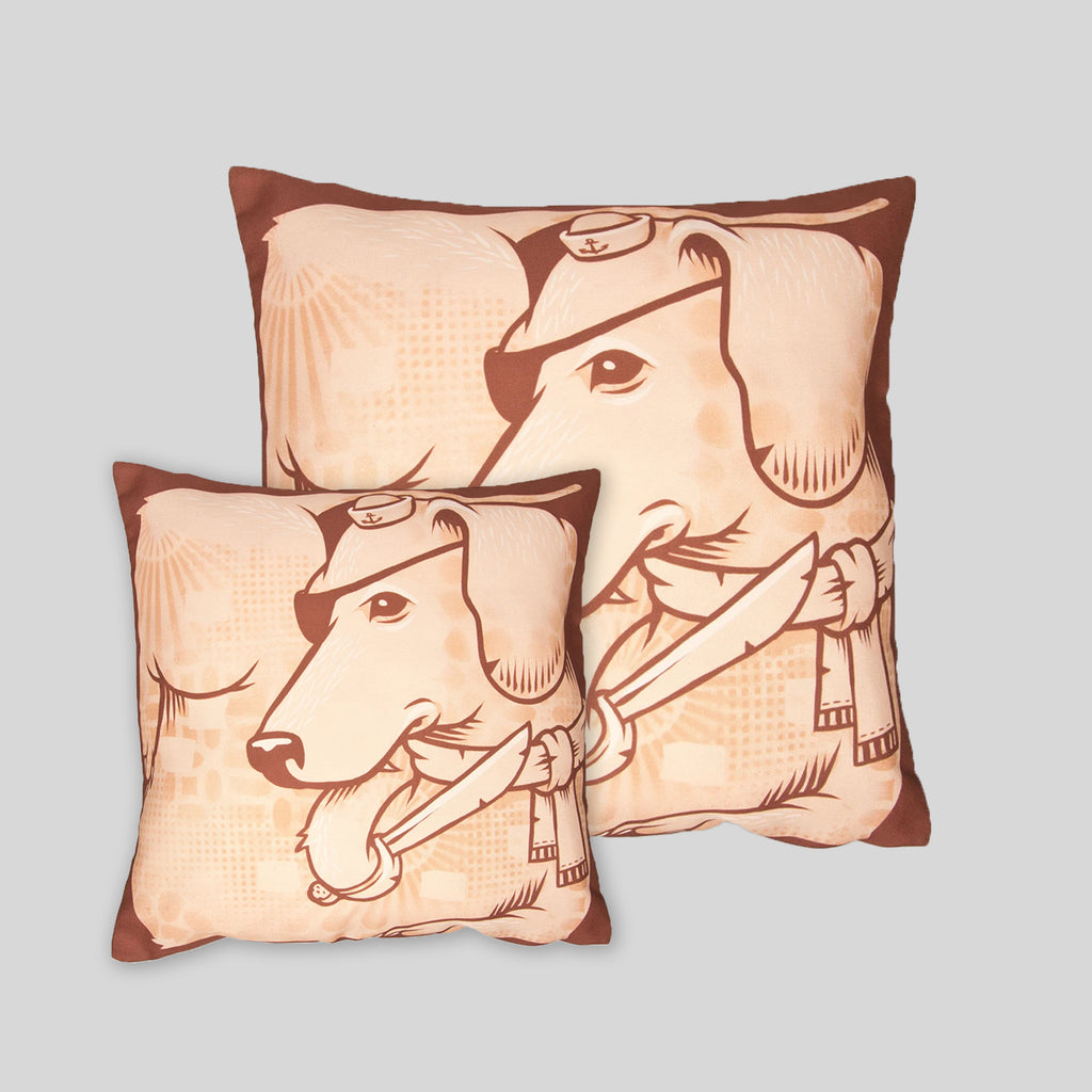 MWW - The Dogs Pillow Cover by Jeremy Fish