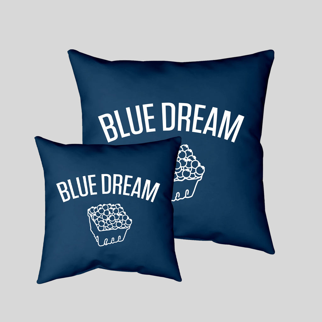 MWW - Blue Dream Pillow Cover by Upper Playground