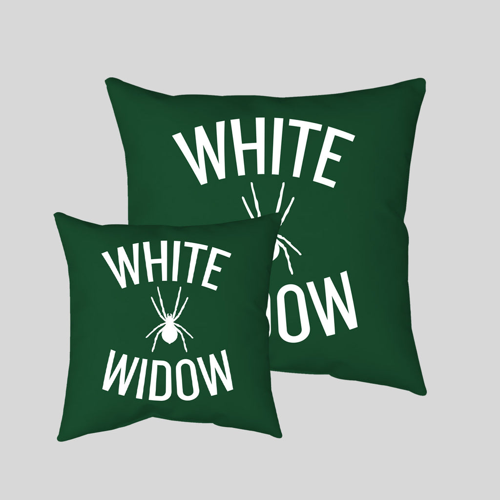 MWW - White Widow Pillow Cover by Upper Playground