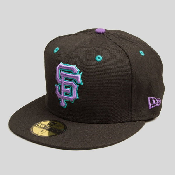 Upper Playground - Lux - SF GIANTS NEW ERA FITTED CAP IN EXCELSIOR BLACK