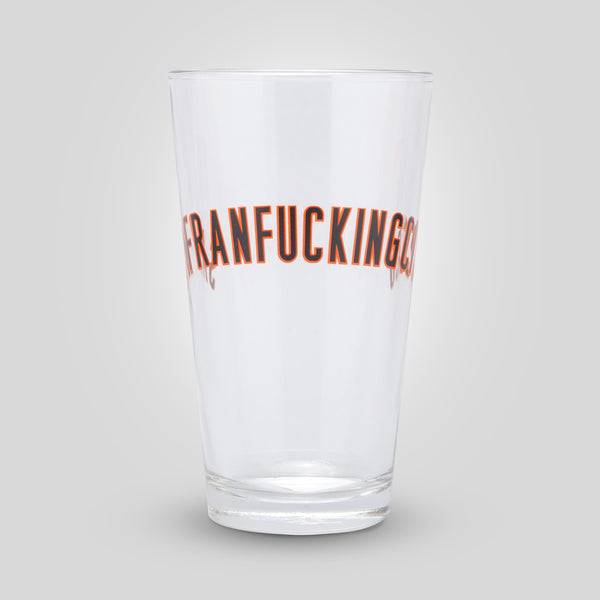 Upper Playground - San Franfuckingcisco Pint Glass