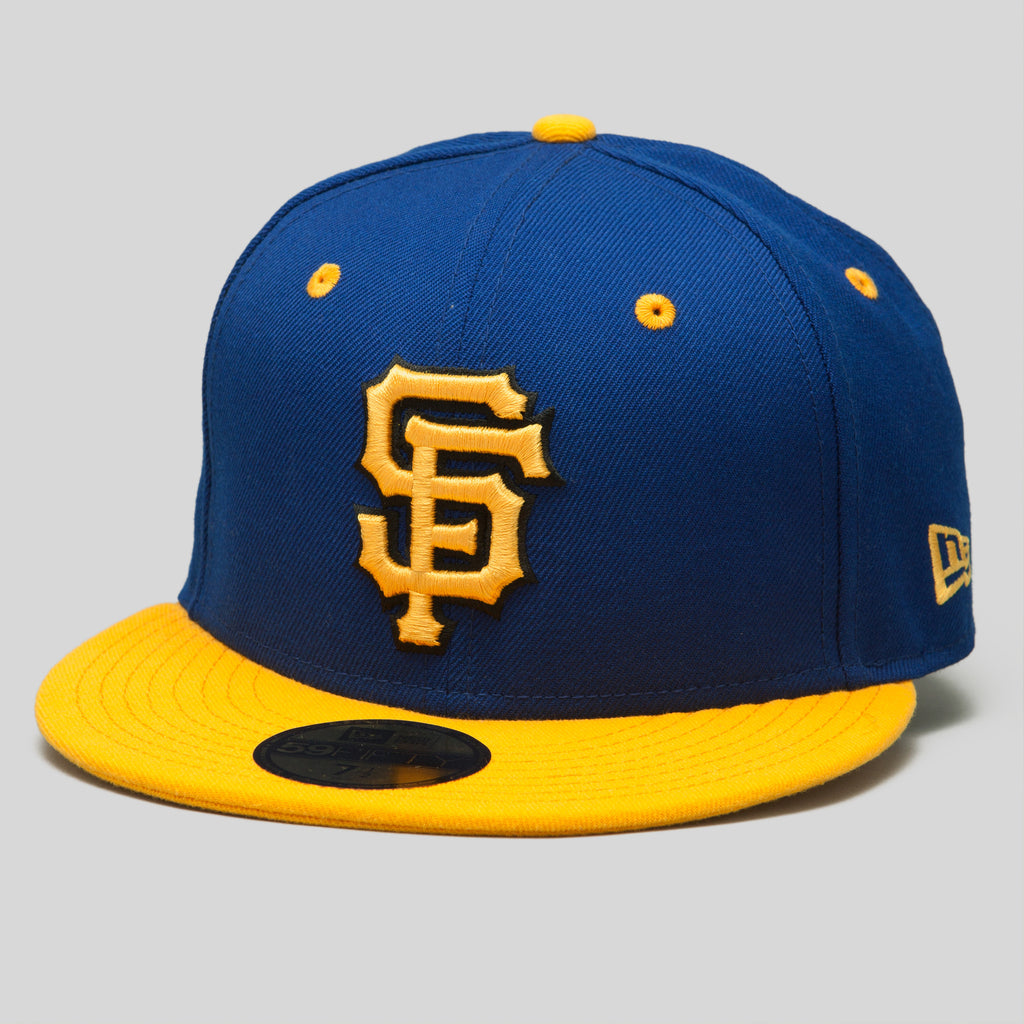 Upper Playground - Lux - SF Giants New Era Fitted Cap in Royal/Gold