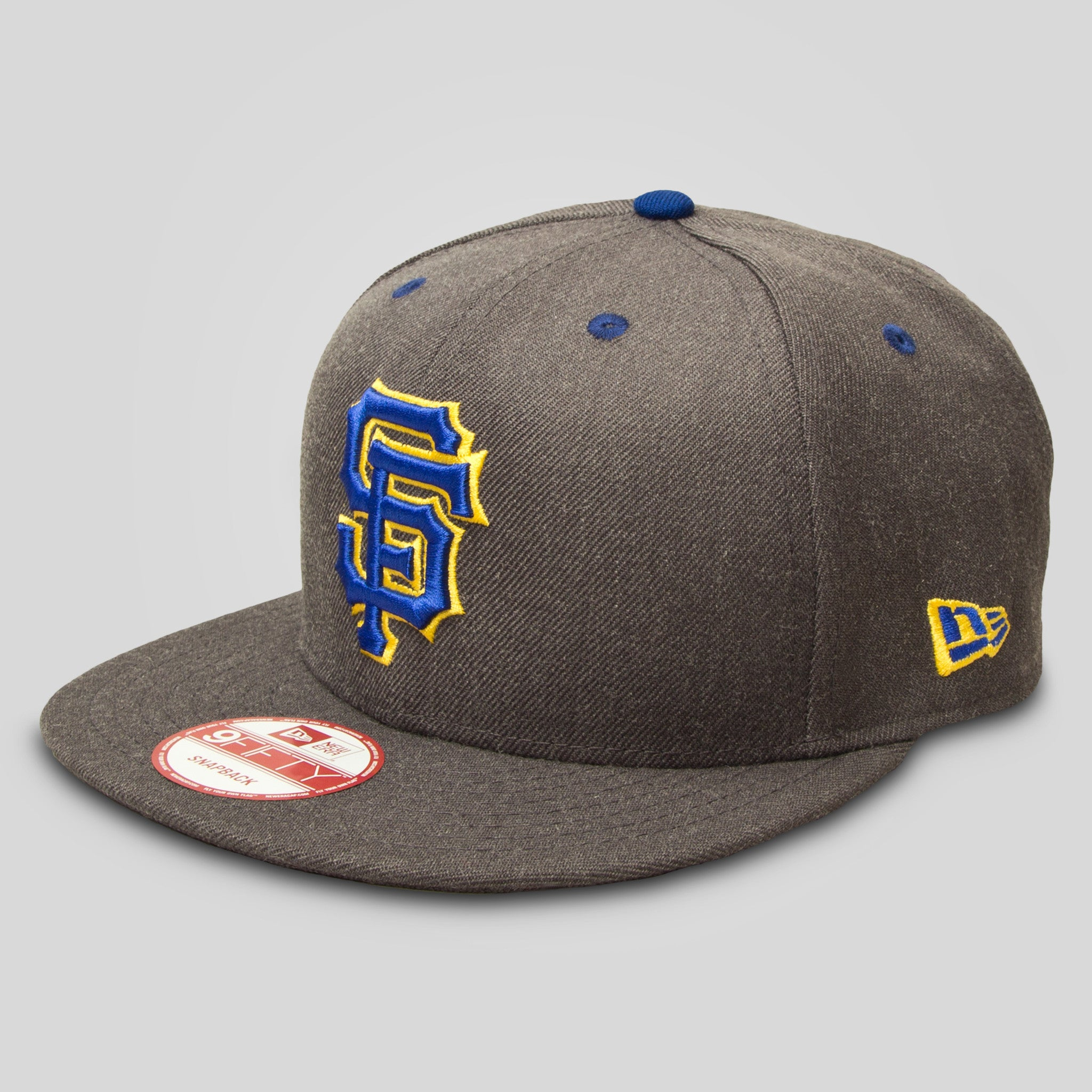 Upper Playground - Lux - SF Giants New Era Snapback in Graphite 22c675baab5