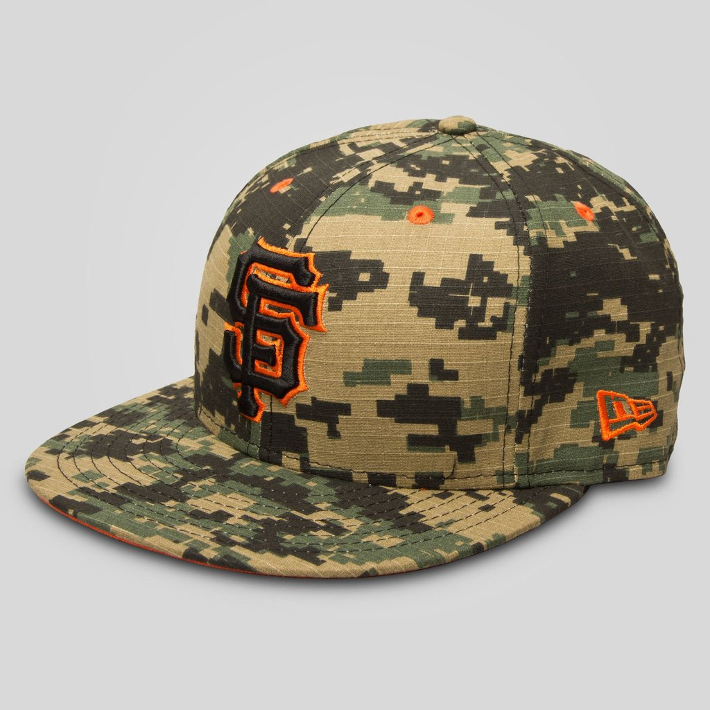 Upper Playground - Lux - SF Giants New Era Fitted Cap in Digital Camo 1aece164b91