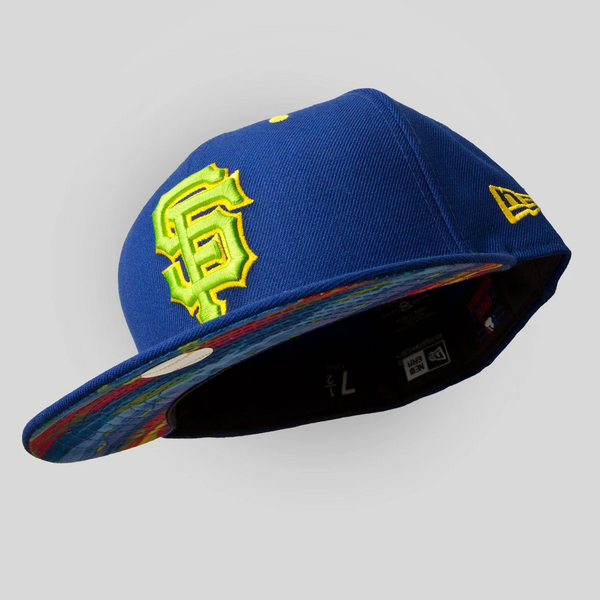 Upper Playground - Lux - SF Giants New Era Fitted Cap in Royal / Aztec