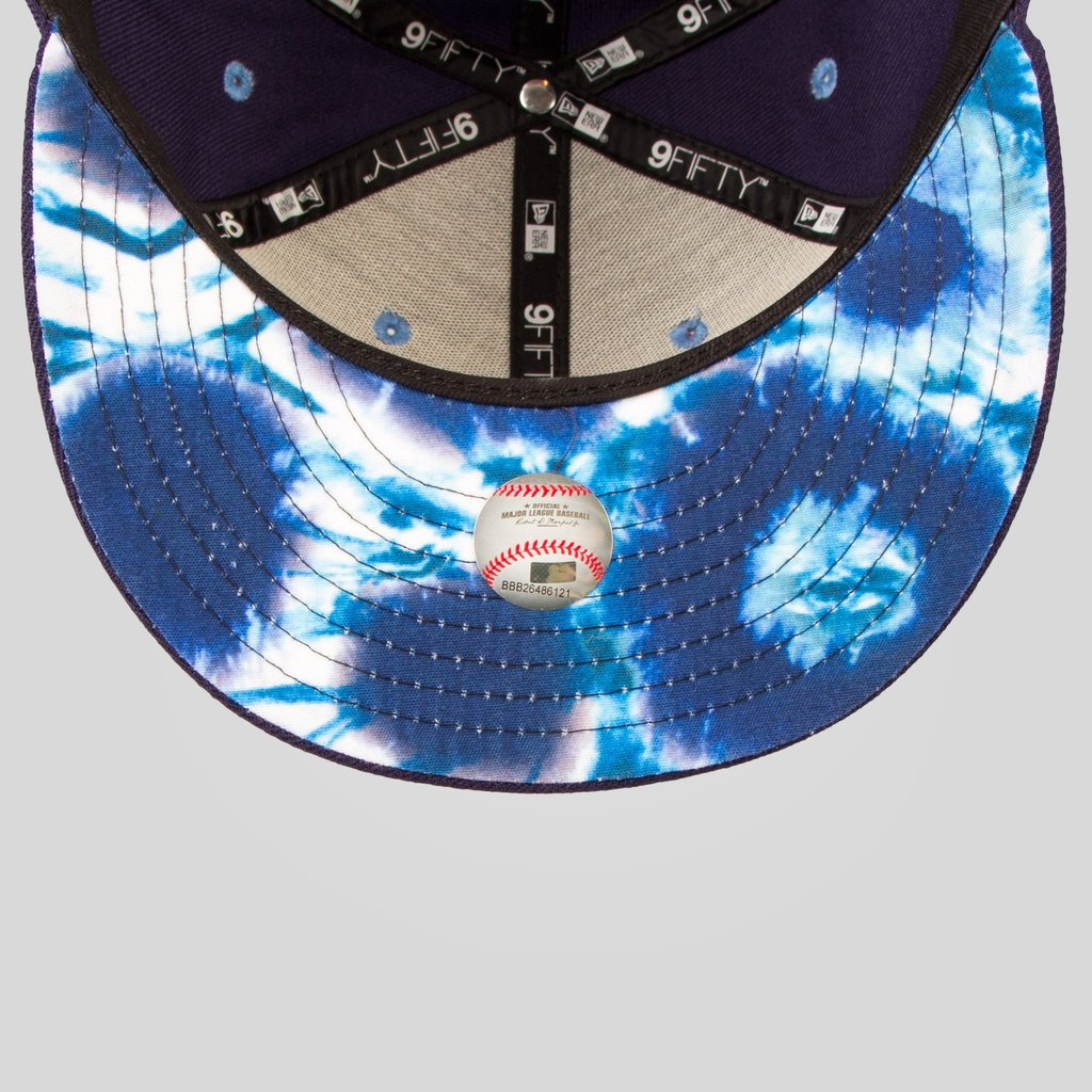 Upper Playground - Lux - SF Giants New Era Snapback in Navy / Blue Tie Dye