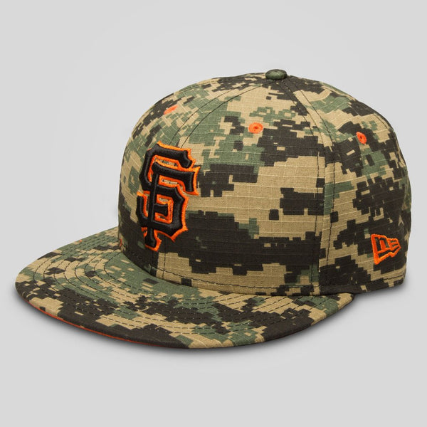 Upper Playground - Lux - SF GIANTS NEW ERA SNAPBACK IN DIGITAL CAMO