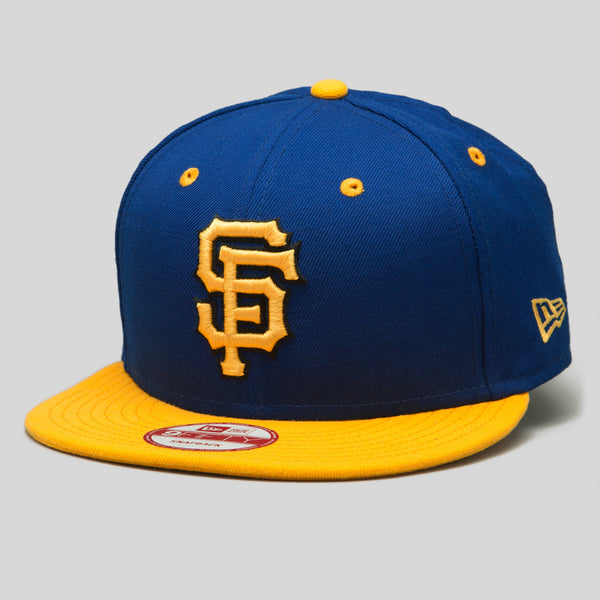 Upper Playground - Lux - SF Giants New Era Snapback Cap in Royal/Gold