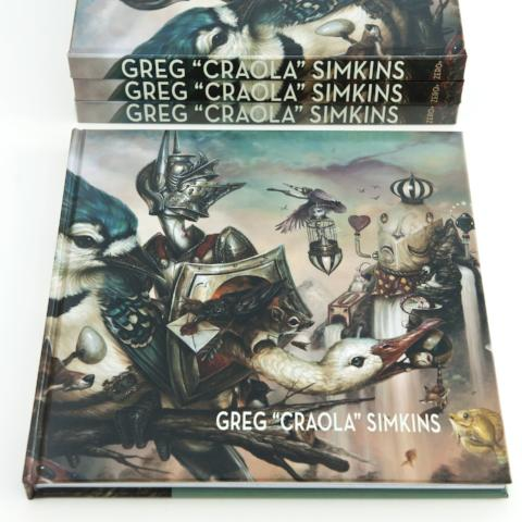 "Upper Playground - Greg ""Craola"" Simkins Book"
