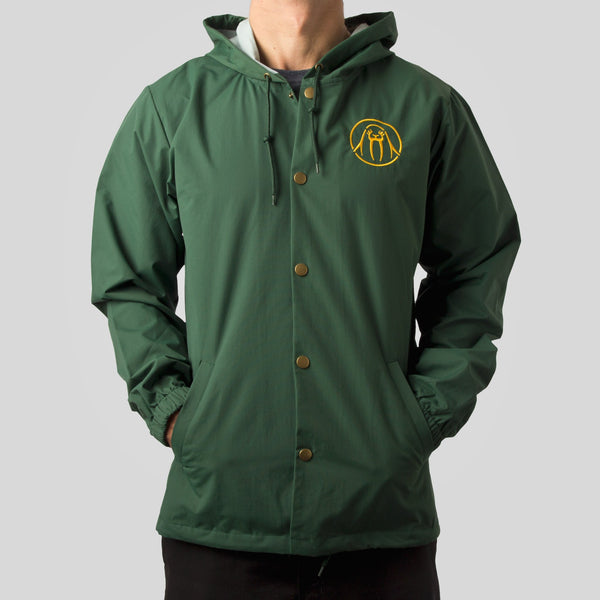 topshelf - Splash Brothers Jacket in Forest Green