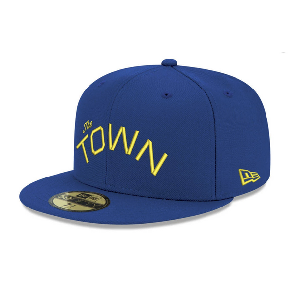 Upper Playground - Lux - THE TOWN New Era Snapback in Royal/Gold