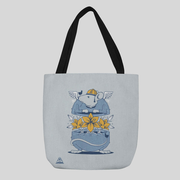 MWW - RAT RACE TOTE BY JEREMY FISH