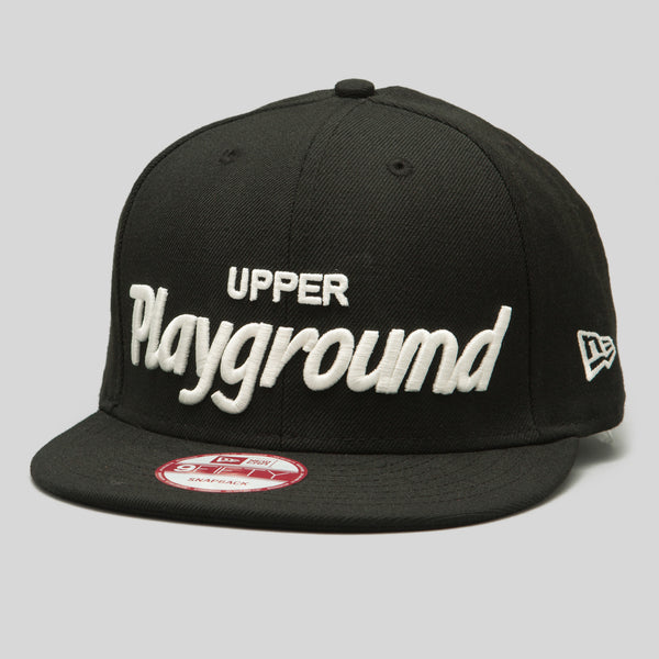 Upper Playground - UP Script New Era Snapback Cap
