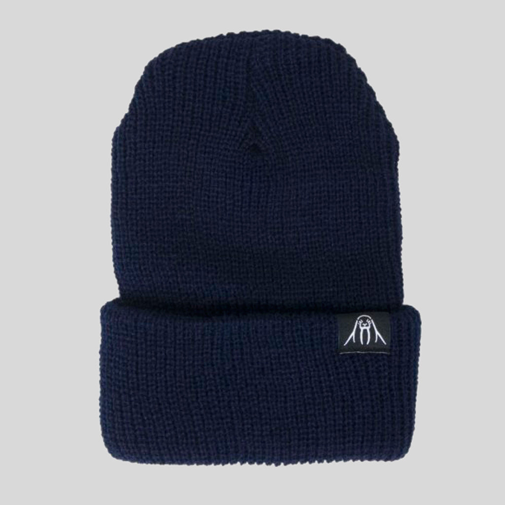 Upper Playground - Walrus Cuff Beanie in Navy