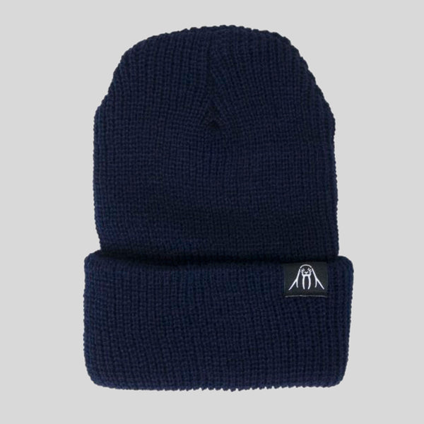 Upper Playground - Lux - Walrus Cuff Beanie in Navy