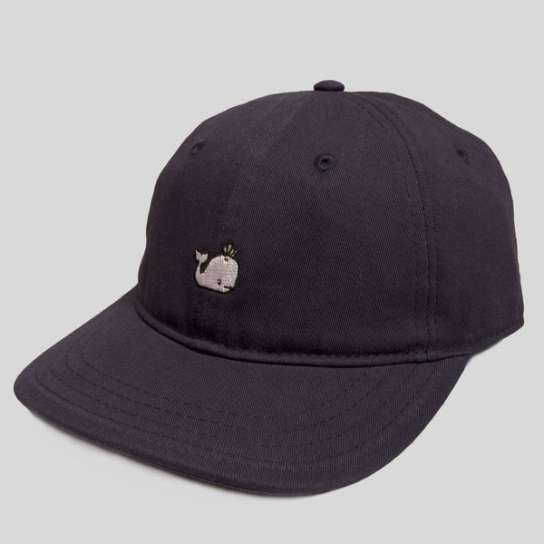 Upper Playground - White Whale Dad Hat by Jeremy Fish