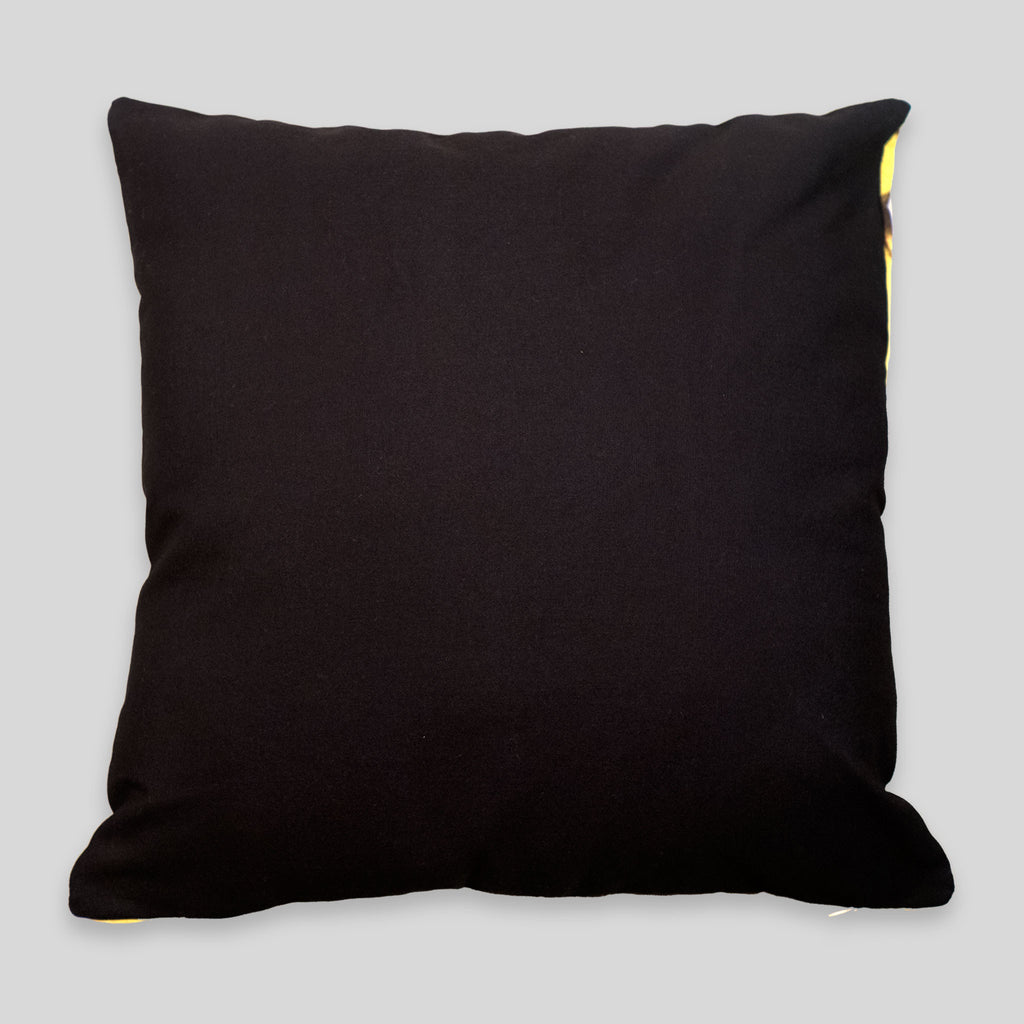 MWW - Yellow Armor Pillow Cover by David Choe