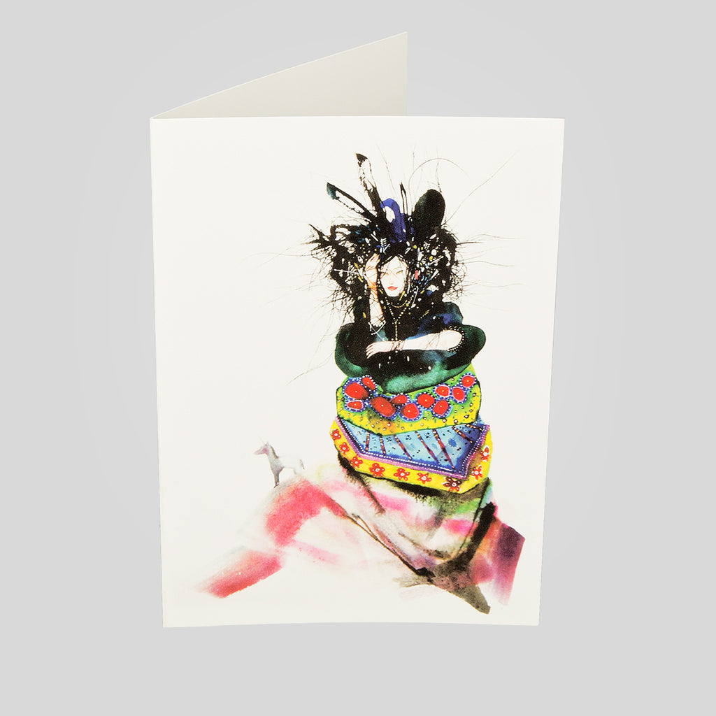 Upper Playground - Lux - Assorted Greeting Card Pack 3 by David Choe