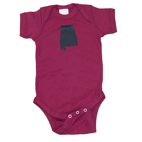 Texas Onesie - Purple & White
