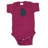 Alabama Onesie - Crimson & Black