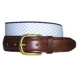 Light Blue & Navy Belt