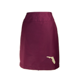 Florida Skirt - Garnet & Gold