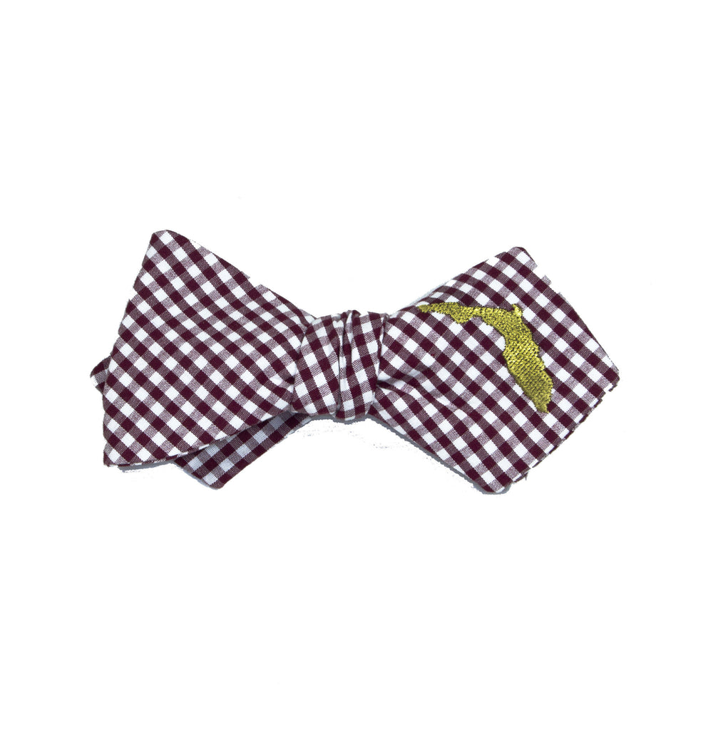 Florida Bow Tie - Garnet & Gold