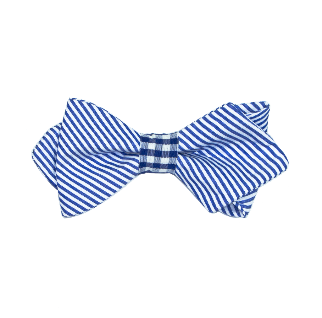 Boy's Suitably Striped Bow Tie