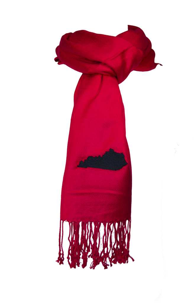 Kentucky Scarf - Red & Black