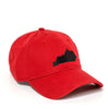 Louisville Kentucky Hat - Red/Black
