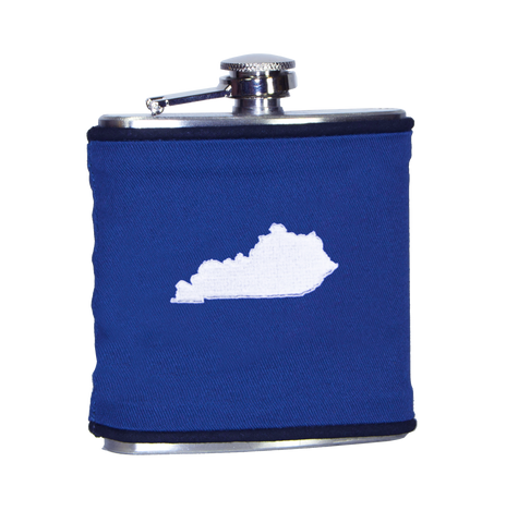 Alabama Flask - Crimson & White